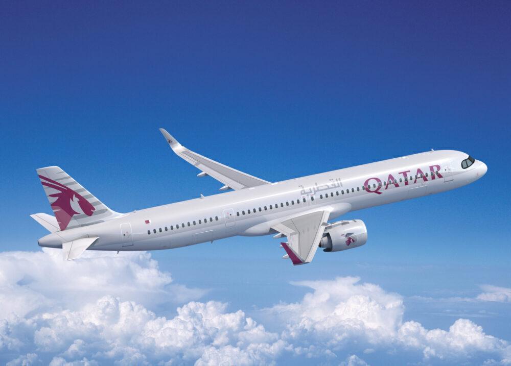 Qatar Airbus A321LR