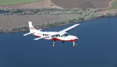MagniX eCaravan Aircraft
