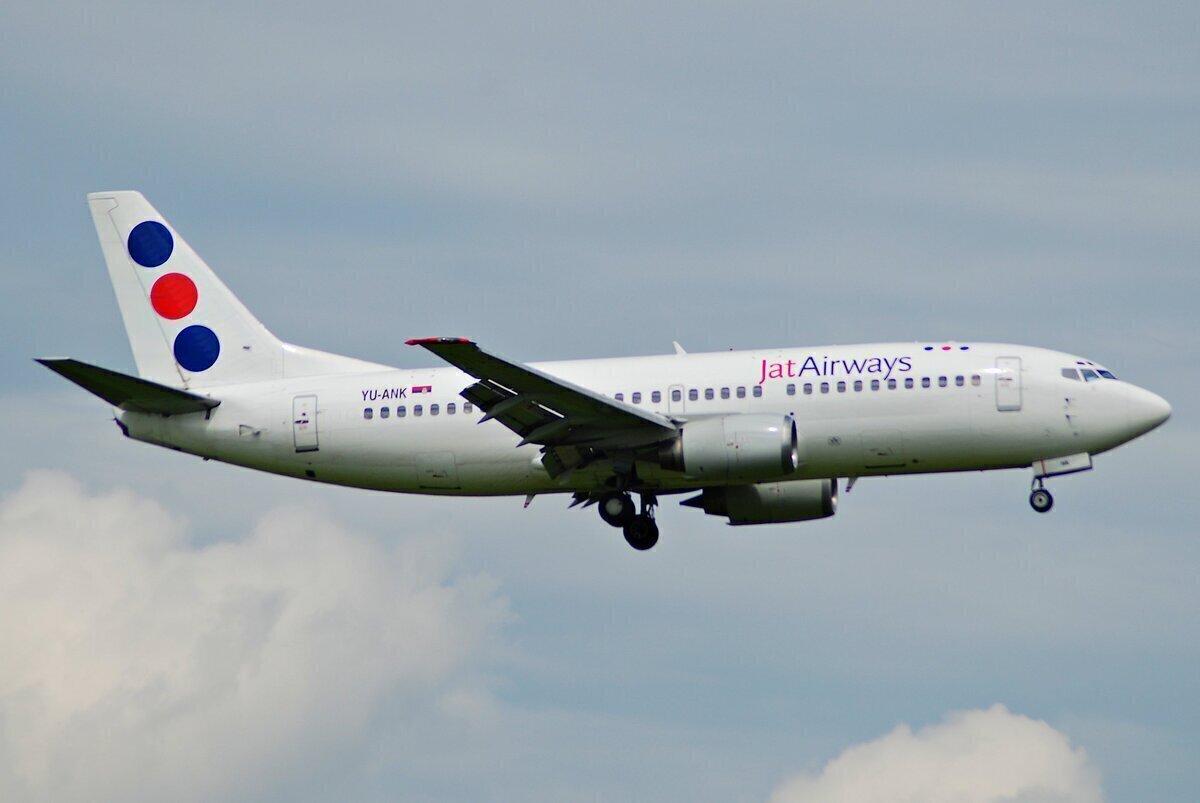Jat Airways Boeing 737-300