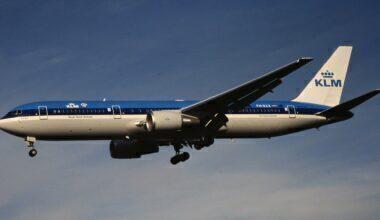KLM Boeing 767