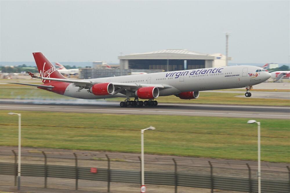 Virgin Atlantic Airbus A340-600 London Heathrow