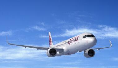 Qatar Airways Airbus A321LR