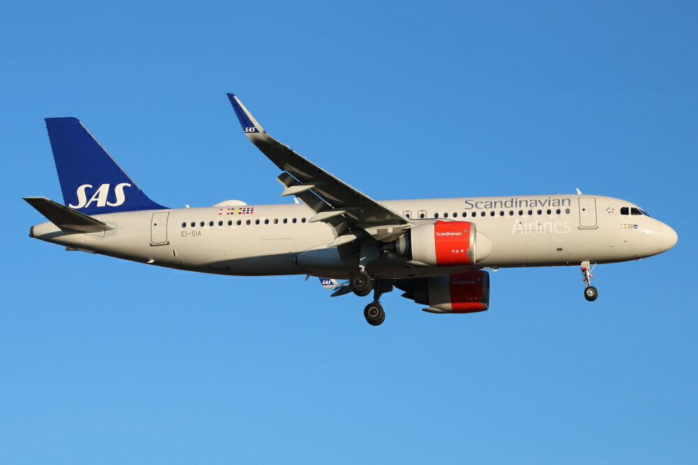 SAS Ireland Airbus A320neo