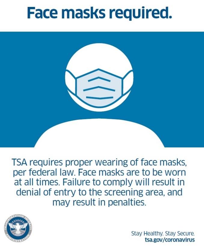 TSA Mask Notification