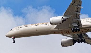Etihad Airbus A350-1000