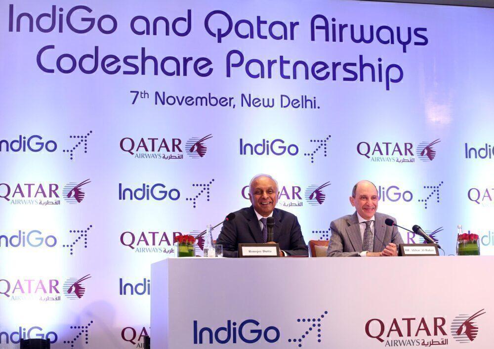 Qatar Airways IndiGo