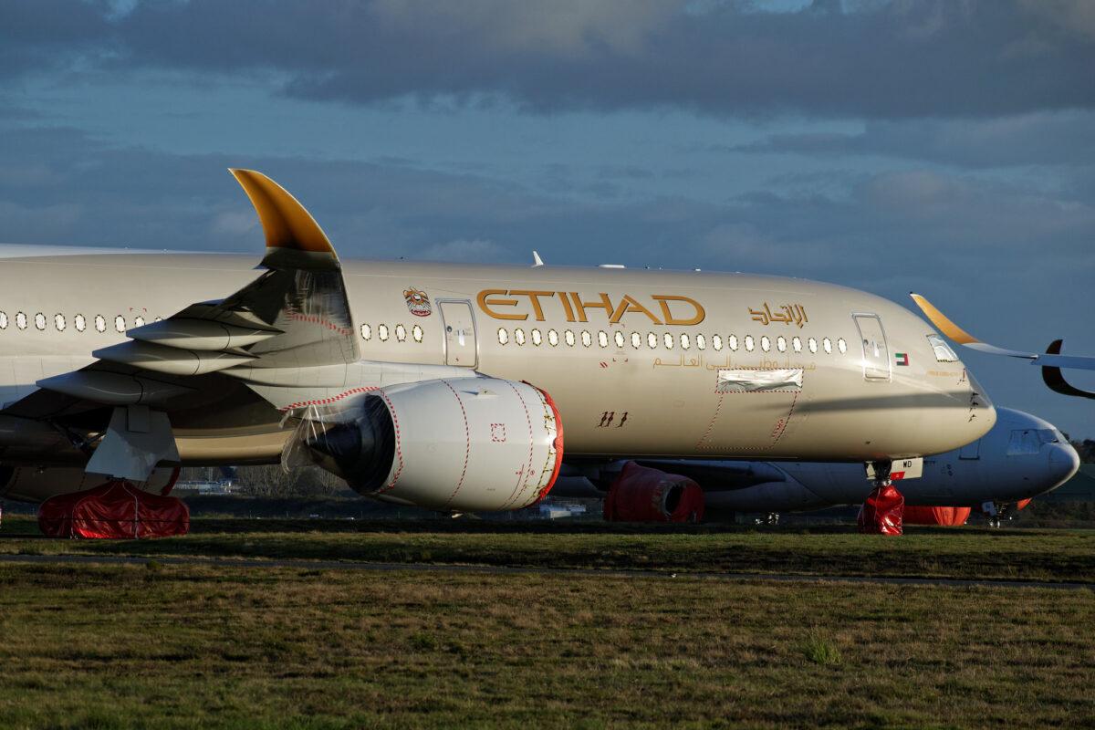 F- WXAD - Airbus A350-1000 - Etihad Airways