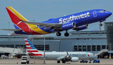 Southwest & American Boeing 737s