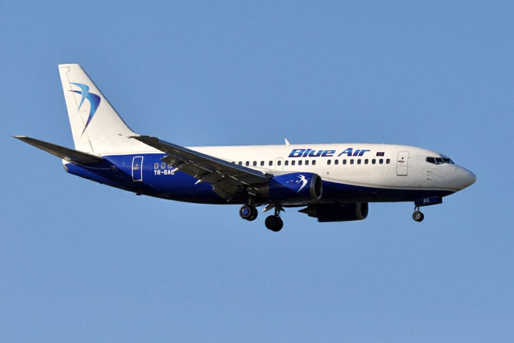 Blue Air Boeing 737-500