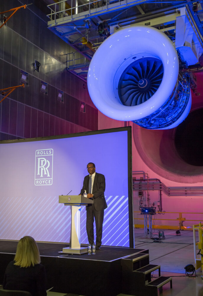 Rolls-Royce Testbed 80 Opening