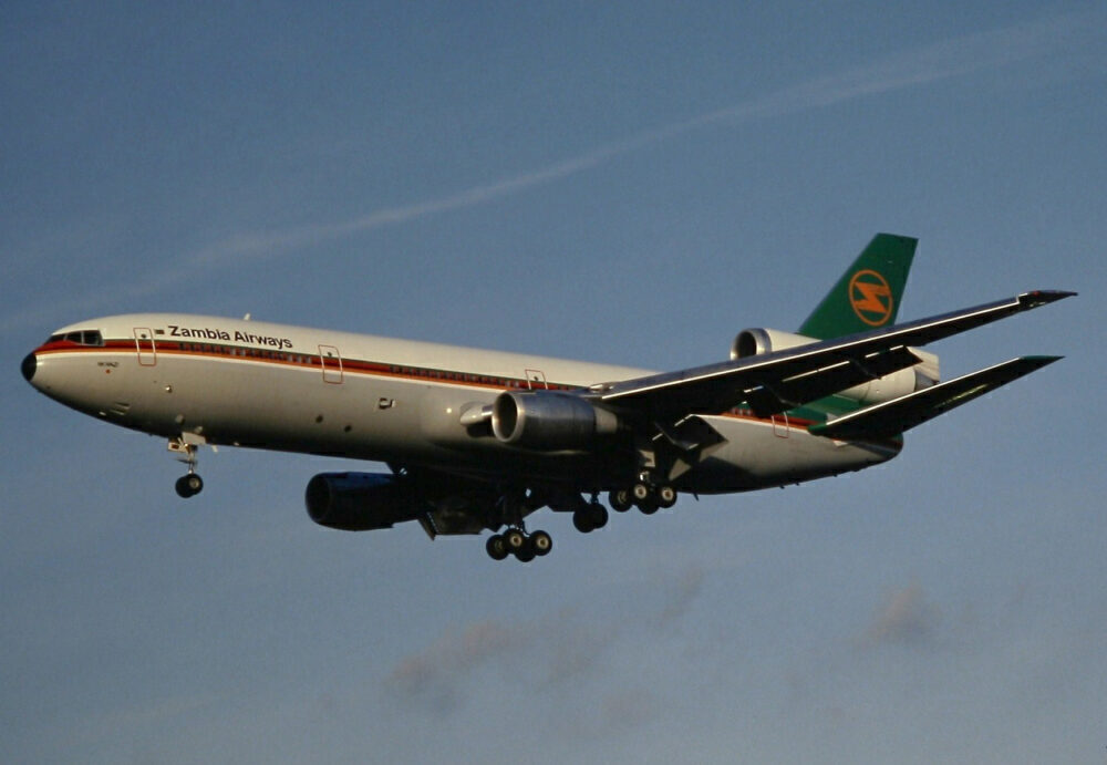 Zambia Airways Douglas DC-10