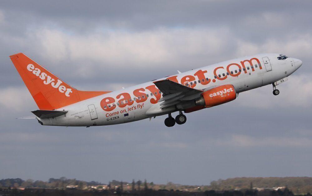 easyJet Boeing 737