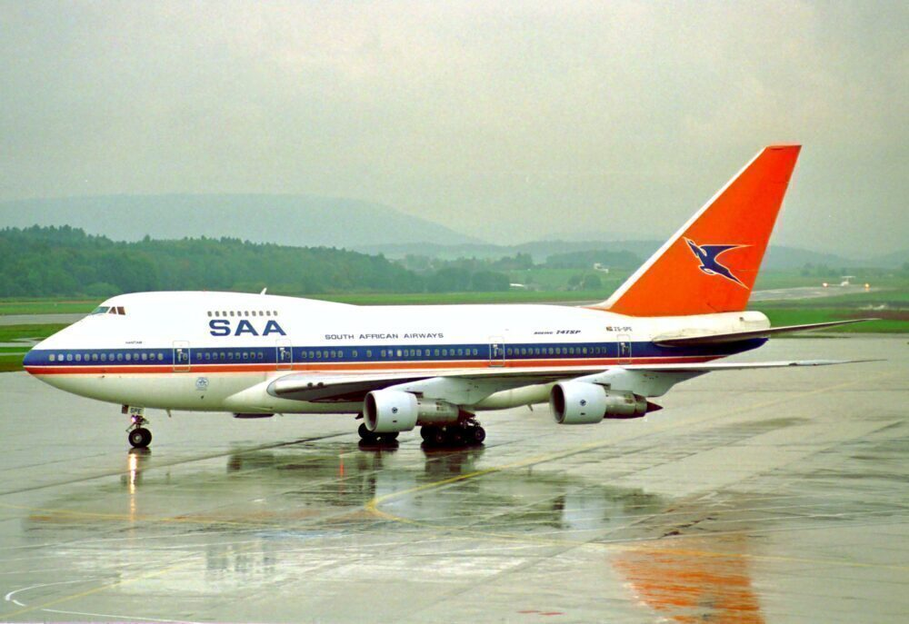South African Airways Boeing 747SP