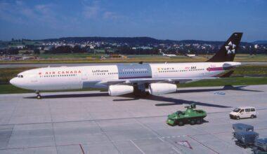 Air Canada Airbus A340