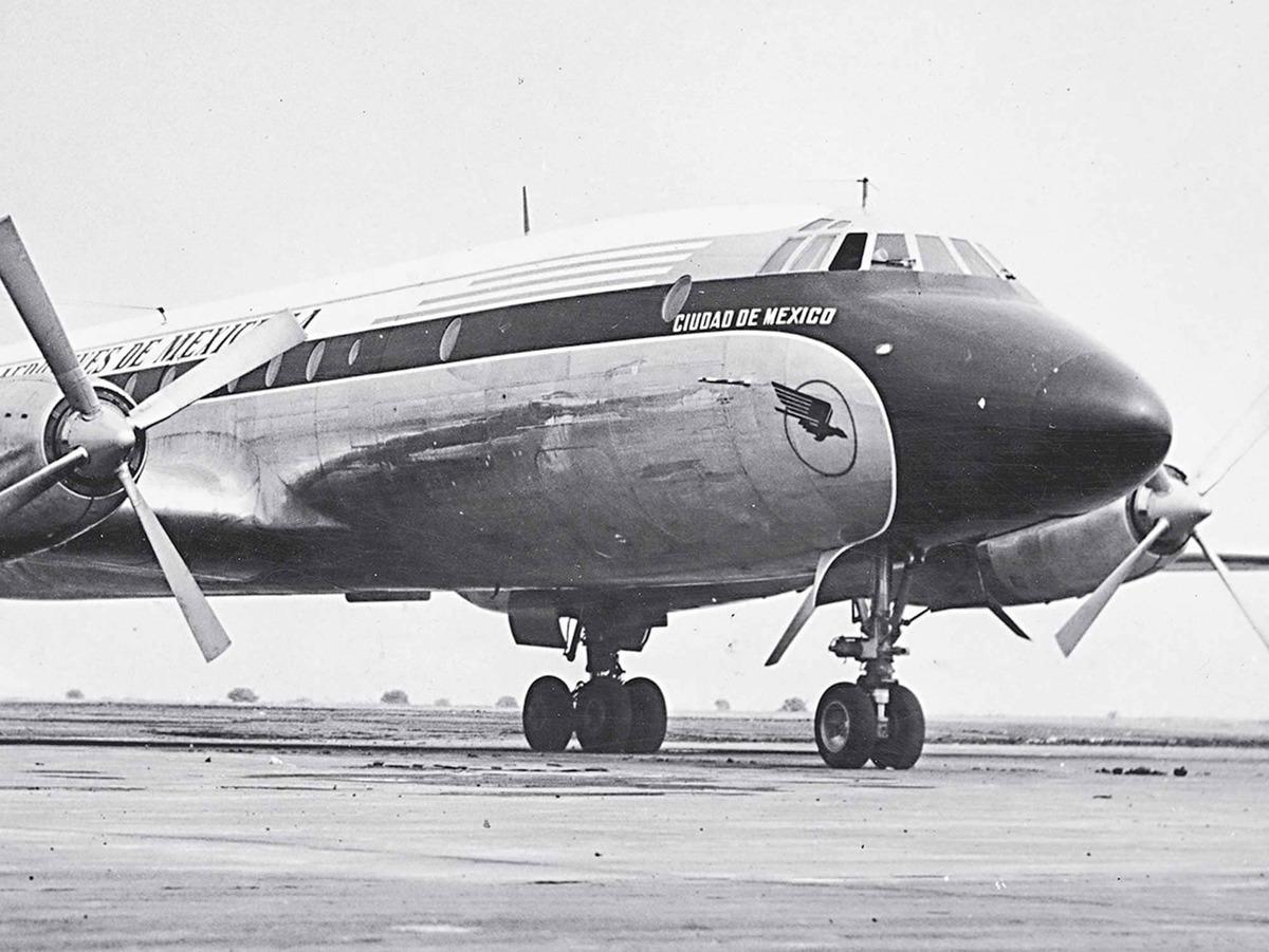 Aeromexico Bristol Britannia 302