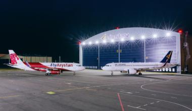 Air Astana FlyArystan A320s
