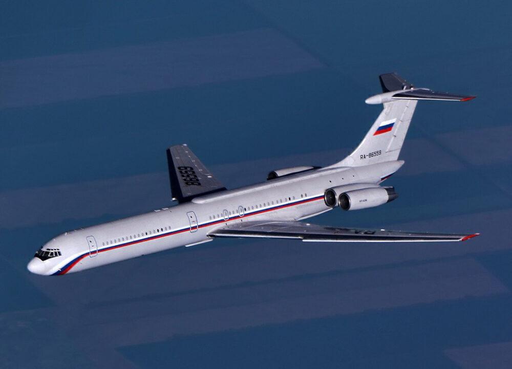 Russian Air Force Ilyushin Il-62