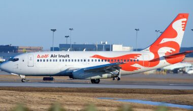 Air Inuit 737 Combi