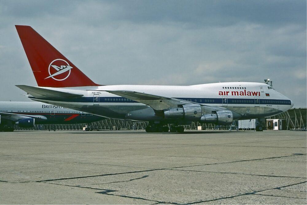Air Malawi Boeing 747SP