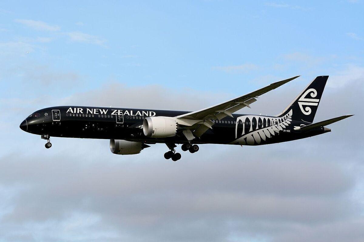 Air New Zealand Flies Boeing 787 In Kiwi-Shaped Pattern