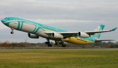 BWIA West Indies Airways Airbus A340