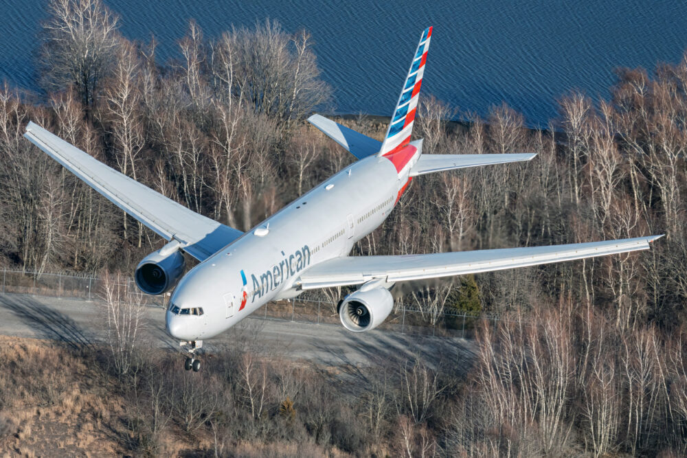 Boeing 777 estadounidense