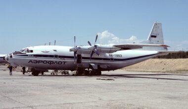 Antonov An-12 Aeroflot