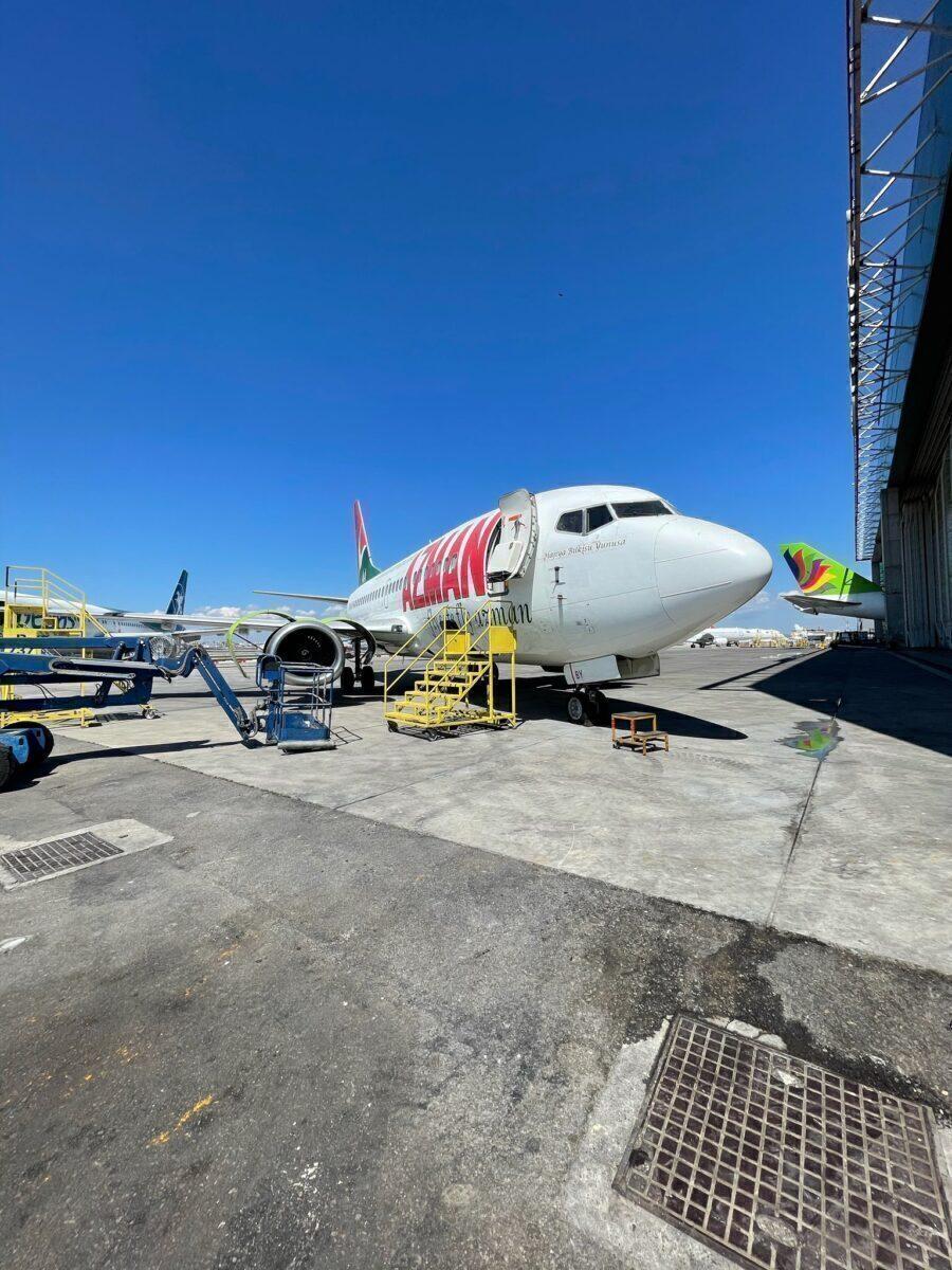 Azman Air 737