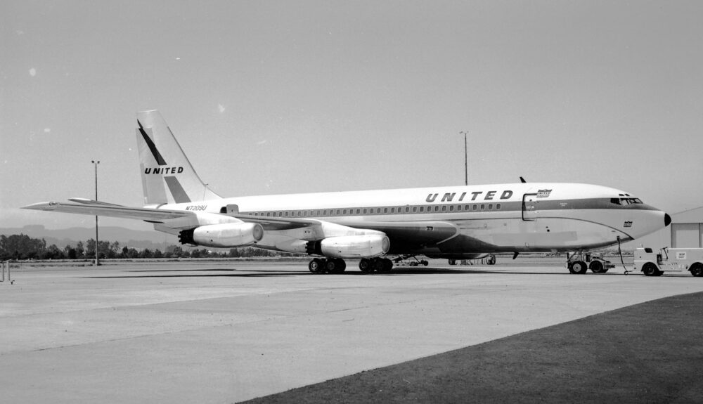 Boeing 720 United Airlines