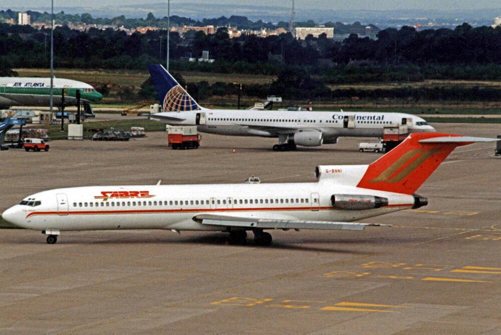 Sabre Airways Boeing 727
