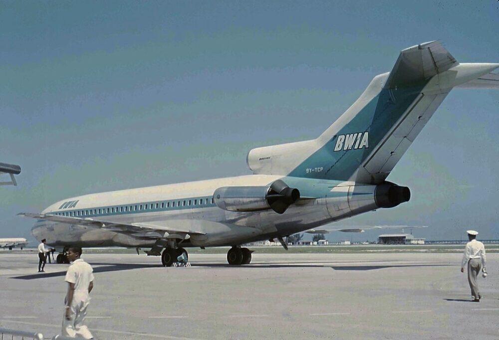 BWIA Boeing 727