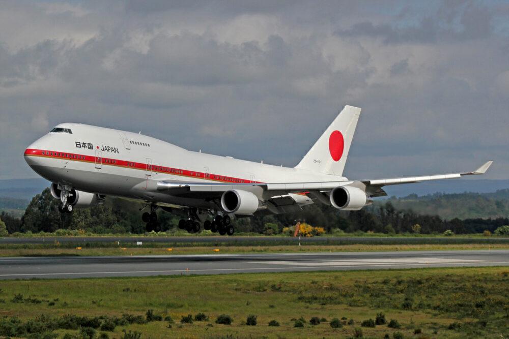 Japan Air Force 747