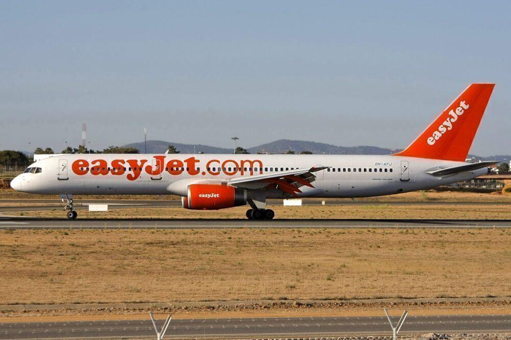easyJet Boeing 757