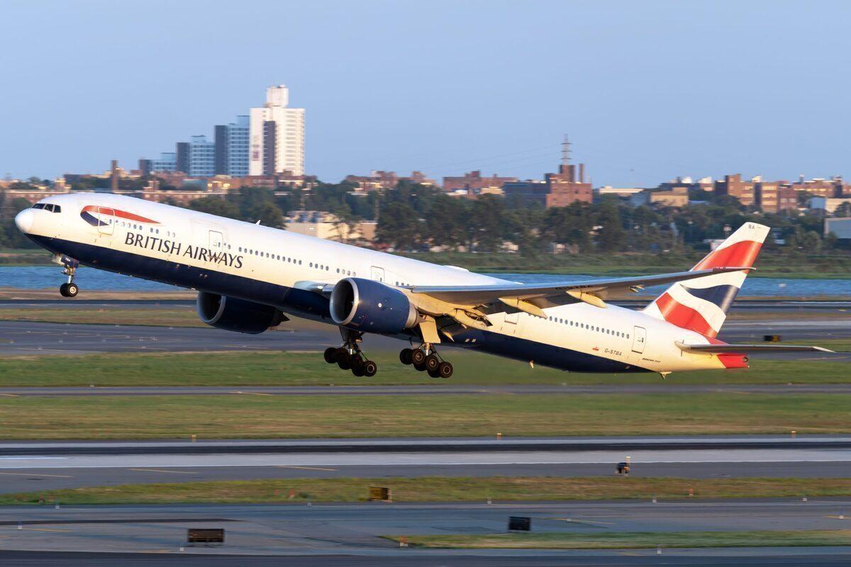 British Airways, United States, Green List