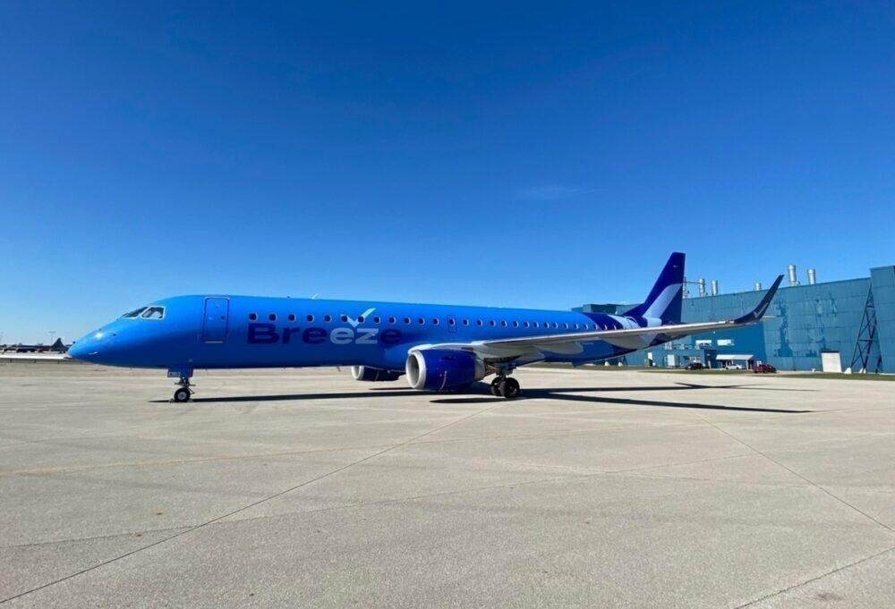 Breeze Airways Will Begin Selling Flight Tickets Tomorrow