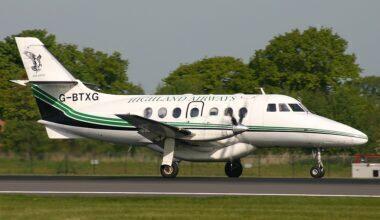 Highland Airways BAe Jetsream 31