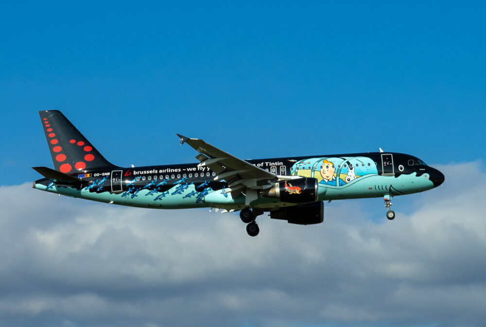 Brussels Airlines Set To Repaint Its Tintin Airbus A320