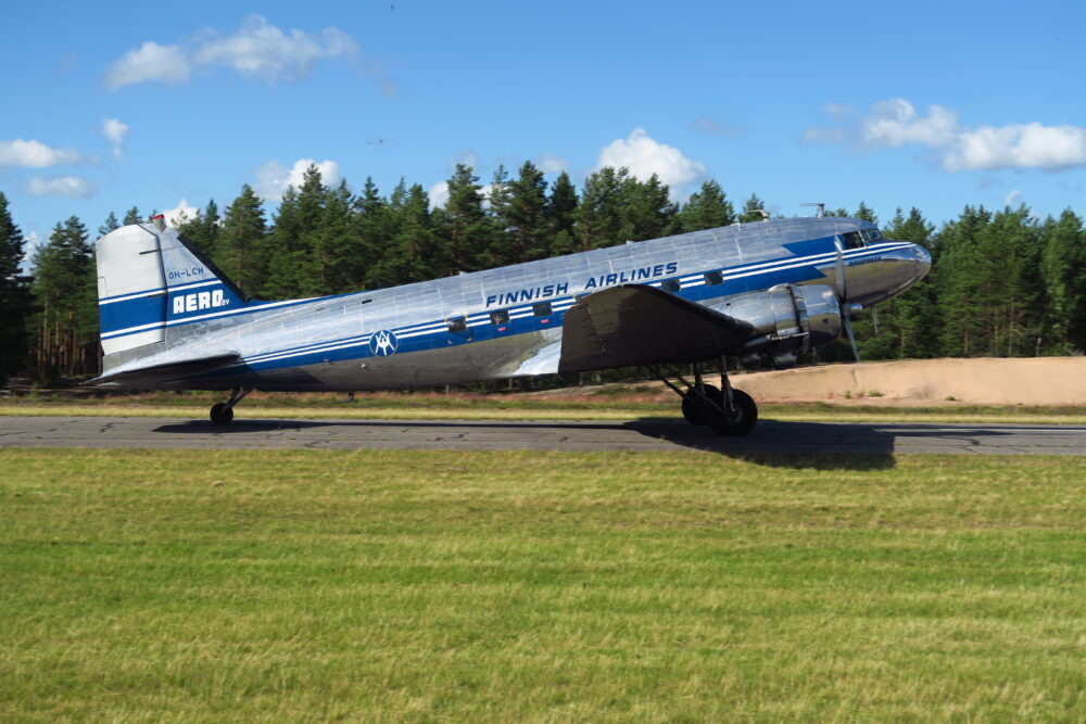 Finland Set To Keep Near 80 Year Old DC-3 Flying This Summer
