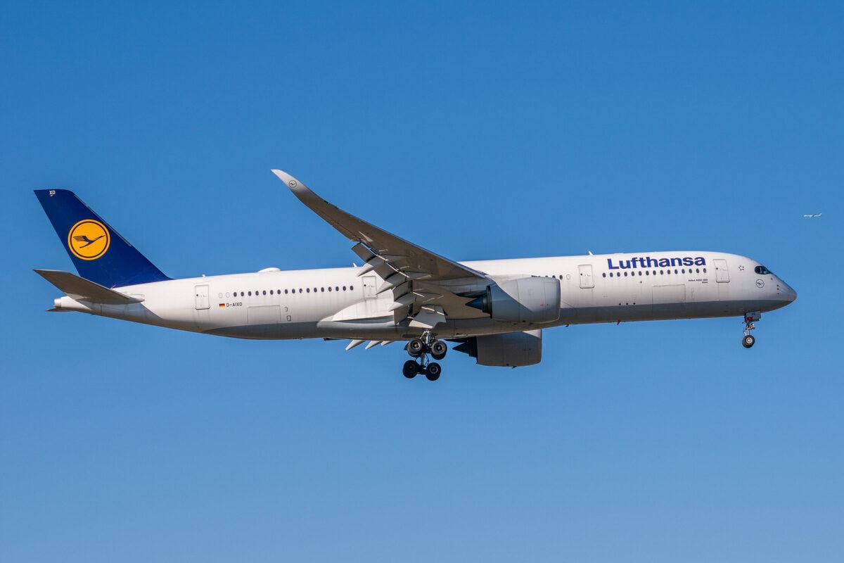 Lufthansa, Newark, Malta
