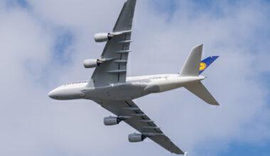 Lufthansa, Airbus A380, Long Term Storage