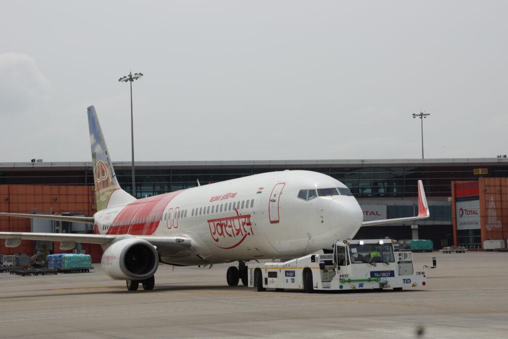 TaxiBot Air India Express