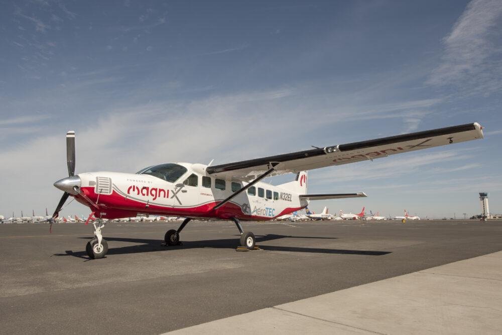 MagniX eCaravan Plane