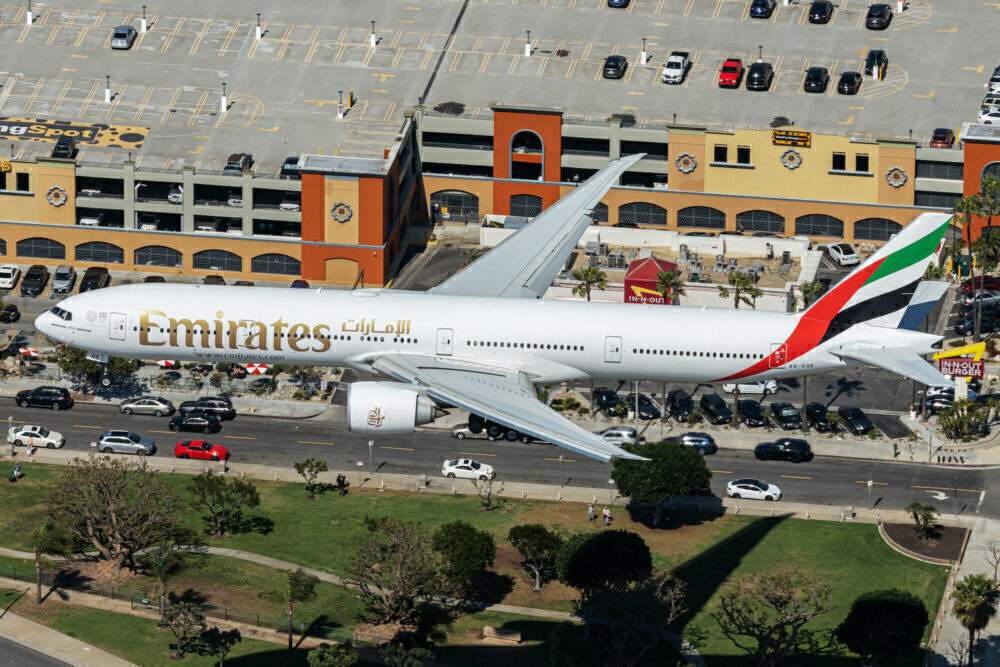 Foreign airlines like Emirates continue to offer service to Australia