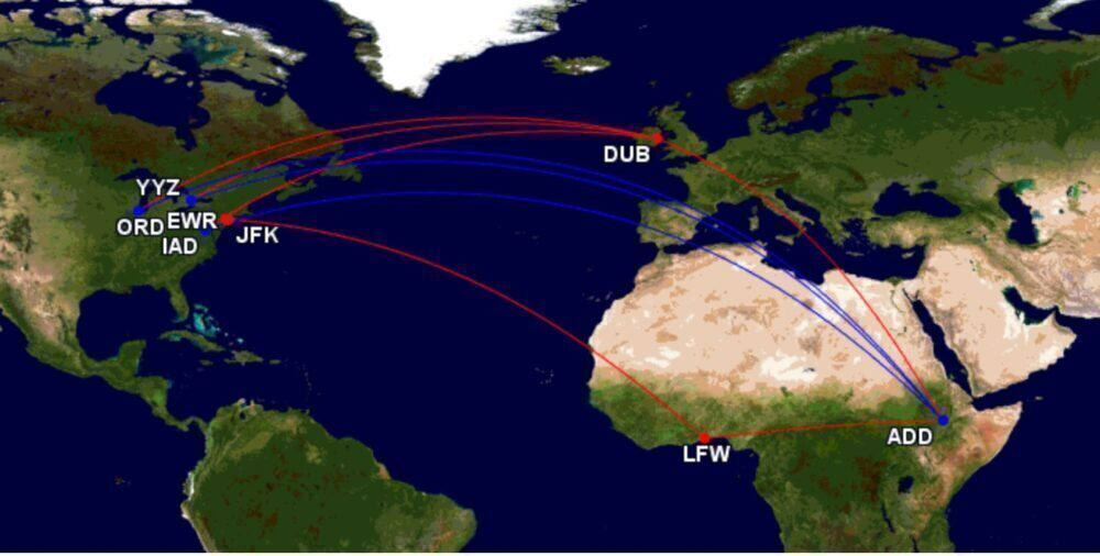 A Stop En-Route: Ethiopian Airlines' North America Services Explained