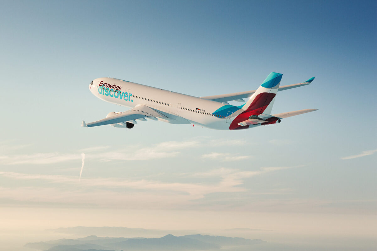 Lufthansa, Eurowings Discover, New Routes