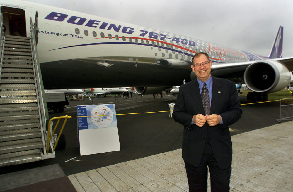 Philip Condit CEO and Chairman of Boeing at Airshow