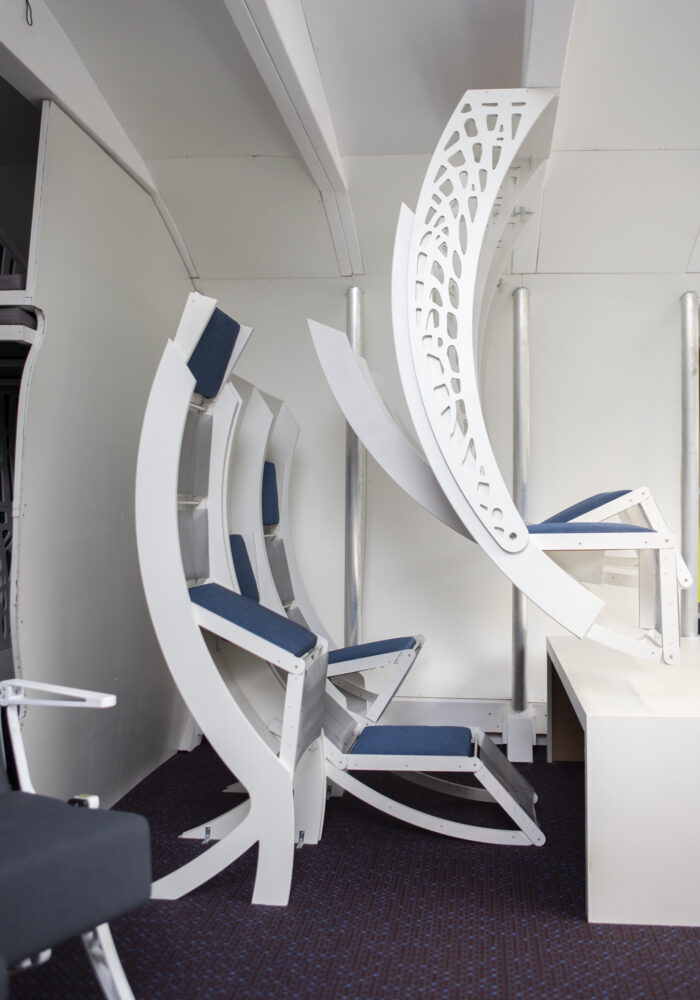 Interior of Flying V