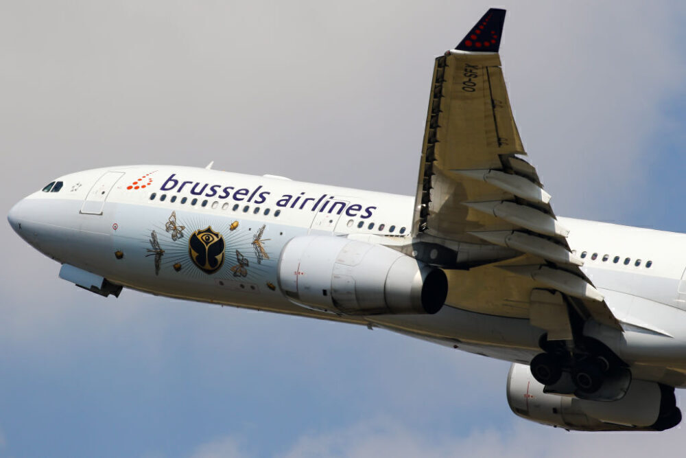 Brussels Airlines Airbus A330 Getty
