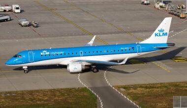 KLM Embraer Belgrade