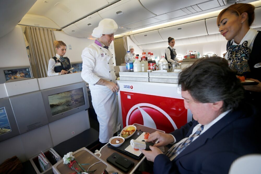 Turkish Airline Flying Chef